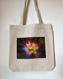 Tote-bag Feu d'artifice floral, 1 article encore disponible