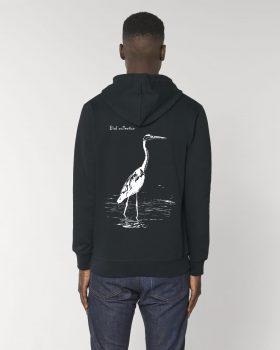 """Sweatshirt édition """"Bird collection"""" Héron cendré"""