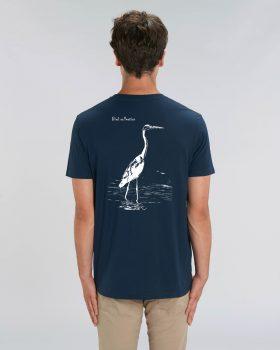 "Tee-shirt Héron cendré édition ""Bird collection"""